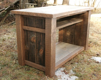 Rustic Reclaimed TV Media Entertainment Stand