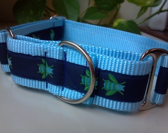 "Lark's Honey Bees 1.5"" Martingale Collar"