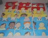 "PIF 12 Children of the World Cotton 5x7"" cut pieces"