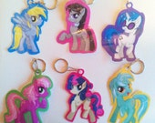 My Little Pony Friendship is Magic Keychain SET 6-02