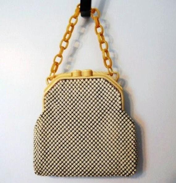 RESERVED FOR JILL  Vintage Whiting & Davis Handbag