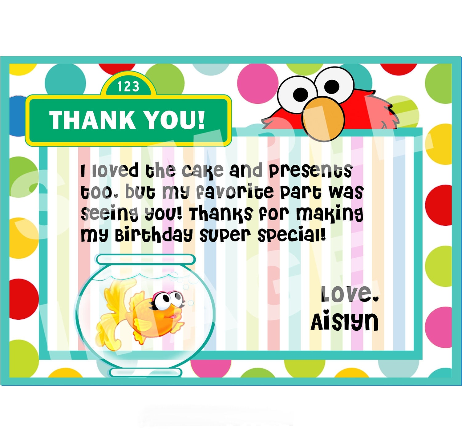 Birthday Party Thank You Cards graphic designer cover letter