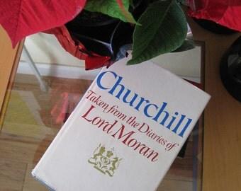 Vintage book * Churchill * Diaries of Lord Moran