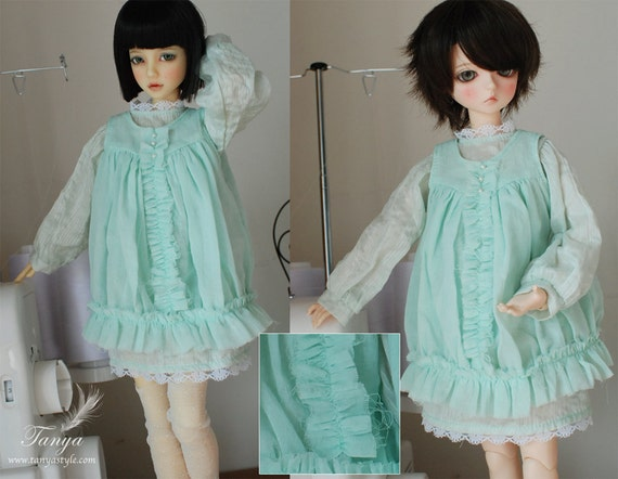 2 Layers Green Dress for MSD/Narae/Unoa - Last One