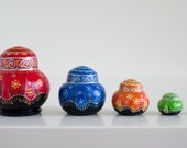 Matryoshka babushka nesting doll russian stacking dolls set of 5