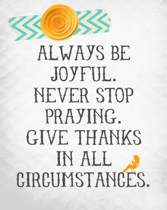 Always Be Joyful