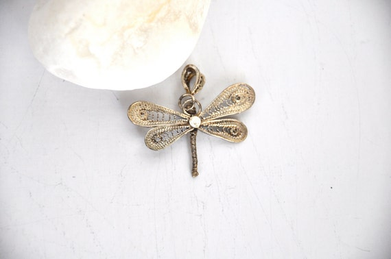 Silver filigree butterfly 1 pcs jewelry making materials.REF-250
