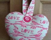Lovebird Decorative Heart.