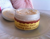 Monkey Farts Foaming Bath Parfait Whipped Soap