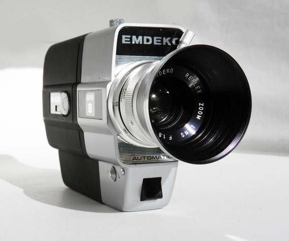 vintage emdeko super 8 camera. Black Bedroom Furniture Sets. Home Design Ideas