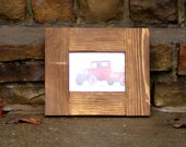 Reclaimed Wood Picture Frame 5x7 - Rustic Photo Frame - Driftwood Style Frame - 5 x 7