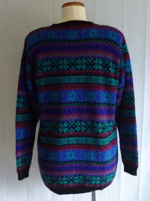 Vintage 1980s Snowflake Sweater