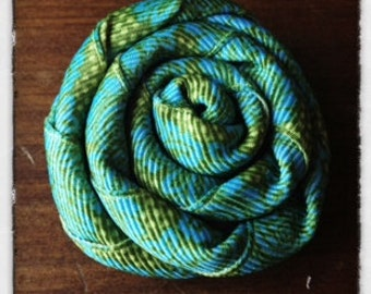 Turquoise & Chartreuse Clip Accessory