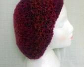 Crocheted Ambrosia Slouchy Beanie Lion Brand Homespun Slouchy Hat