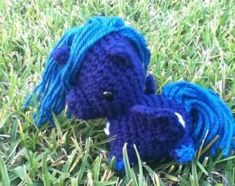 Princess Luna My Little Pony Crocheted Plush