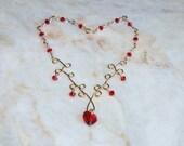 Valentine Red Swarovsky Heart Crystal