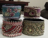Set Of  Four  Vintage Look Bracelets