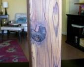 Natural Wood - Redwood Lamp