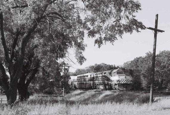 Altamont Commuter Express, No. 4, Hearst, California September 31, 2009 Original Fine Art Photograph, Numbered Series, Matted