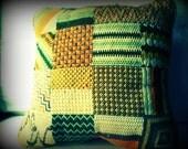 Vintage Patchwork Pillow