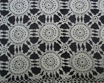 Marcelous  LACE TRAY COVER  - Hand Crochet -  Lace Tray Cover - Vintage - Perfect Gift