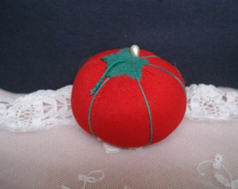 Wonderful Vintage PIN CUSHION - Figural  - Uncommon = Soft and Clean - Ready to  Use