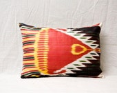 """handmade ikat pillow cover - 12.13"""" x 17.52"""" - FAST shipment with UPS - 00714-59"""