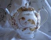REDUCED/Vintage Austrian Teapot /Wedding decor/ collectible /shabby chic home decor