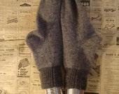 Extra warm wool socks. 100% wool. Grey. Dark grey.