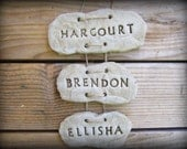 Hanging Family Sign, Last Name with Family Names, Mothers Day or Fathers Day Gifts