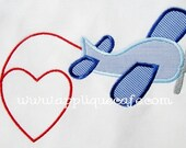 Custom Airplane Love T-shirt or Onesie