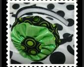 Retro Green Headband