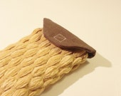 cell phone case, Blackberry case, iPhone case, iPod, iPhone 4, iPhone 3S, soft woven and linen fabric, with felt lining