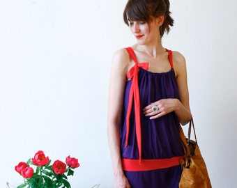 "Dress ""Kate"", violett-red"