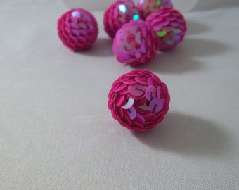 Large Sequin beads Basketball wives