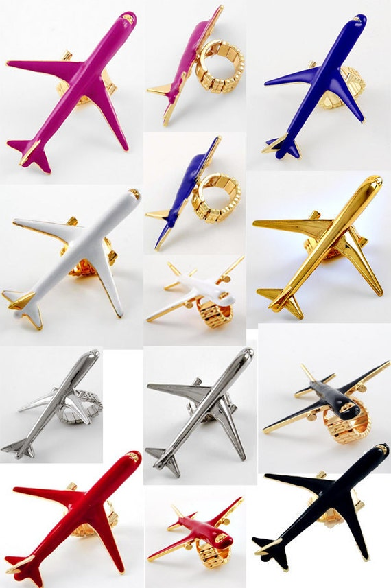Selected colors now Fly above the haters (Airplane) Ring on SALE