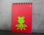 Goldfish - Upcycled Paint Chip Notebook