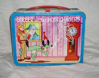 1974 Goober and the Ghost Chasers & Inch High Private Eye Lunch Box
