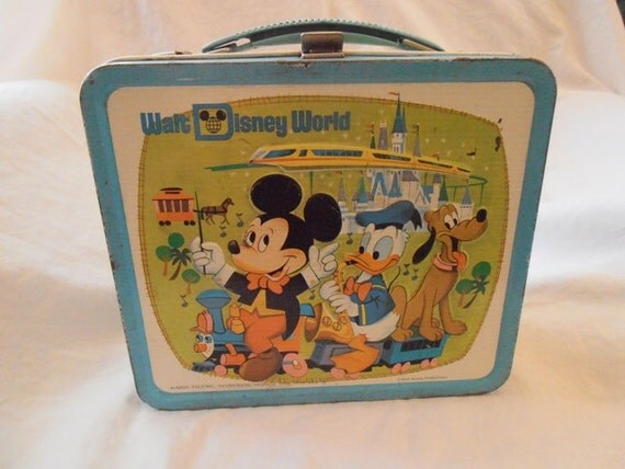 Walt Disney World Metal Lunch Box from the 1970s