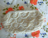 Clutch Evening Bag Beads and Sequins Ganson of California