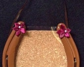 Brown Horseshoe Picture Frame