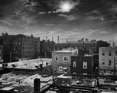 Sunset Astoria Rooftops Queens NY