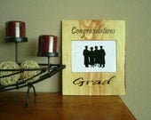Graduation Wooden Wall Hanging - Photo 5x7 Frame