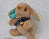 SALE! Miniature hand stitched Bunny.