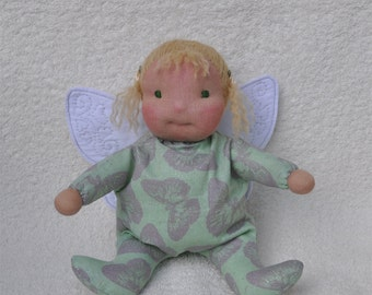 SALE! Fretta's Waldorf Sitting Baby Butterfly or a Fairy Baby
