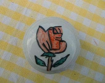 "Vintage french porcelaine ""Limoges "" trinket box hand painted"