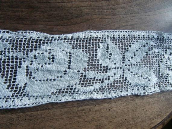 Antique Piece of Victorian needlework with fine detail