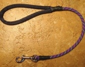 2 Foot Climbing Rope Dog Leash in Purple