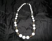 Vintage White Necklace
