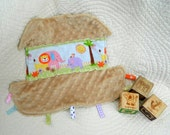Soft and Sweet Noah's Ark Snugglie for Girls